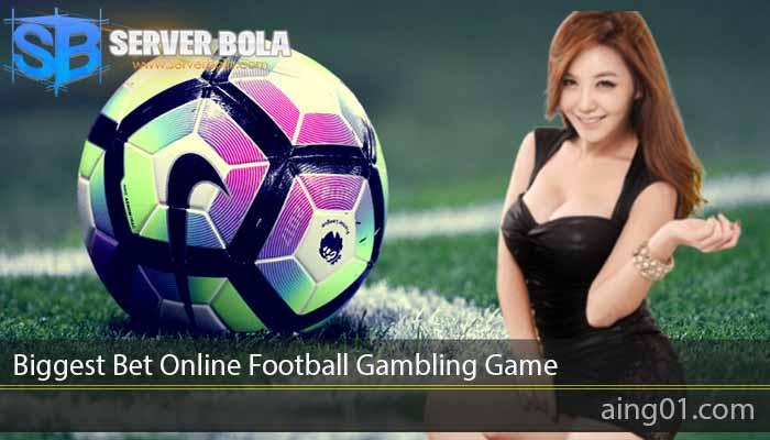 Biggest Bet Online Football Gambling Game